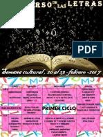 Semana Cultural y Carnaval 2017