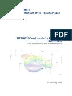 001 Coal Model Updating Handbook