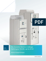 Catalog HA 25.71 Circuit-Breaker Switchgear NXAIR