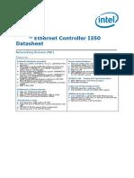 Ethernet Controller i350 Datasheet