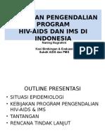MD-1 Kebijakan Program Pengendalian AIDS Versi 12.06.05