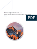 Mac Integration Basics 10.12 Guide