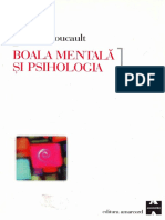 Michel Foucault Boala Mentala Si Psihologia