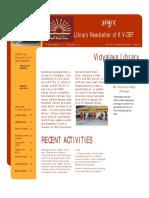 KV OEF Library Newsletter