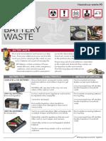 battery waste