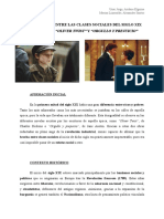"""La Diferencia Entre Las Clases Sociales Del Siglo Xix en Europa en """"Oliver Twist"""" y """"Orgullo y Prejuicio"""""""