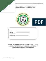 Engineering Geology Lab Manual