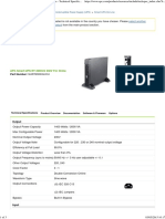 Buy APC Smart-UPS RT 2000VA 230V for China - Technical Specifications and Information _ APC