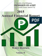 2015 AFR Water Districts Volume II