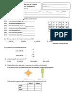 Ficha Diagnóstico 6ºano