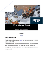 2014 Winter Event