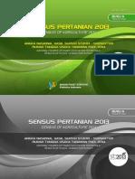 Sensus Pertanian 2013 Angka Nasional Hasil Survei ST2013 Subsektor Rumah Tangga Usaha Tanaman Padi 2014