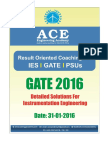 Ace Academy GATE 2016 In