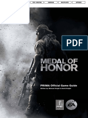 Medal of Honor (Official Prima Guide)   Military   Military