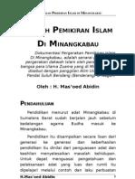 Gerakan Pemikiran Islam di Minangkabau