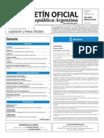 Boletín Oficial de la República Argentina, Número 33.570. 20 de febrero de 2017