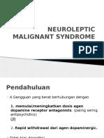 Neuroleptic Malignan Syndrome