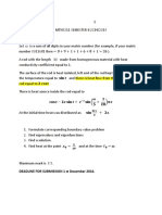 Assignment 1 Partial Differetial Equation