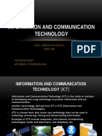 Information And Communication Technology for SHS Part 1