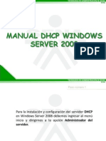 Manual Dhcp Windows 2008