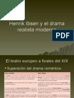 Henrik Ibsen y El Drama Realista Moderno