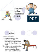 Jenis-jenis Latihan Kecergasan Fizikal_T3
