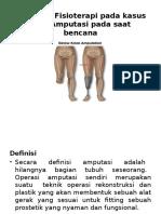 Tindakan Fisioterapi Pada Kasus Post Amputasi