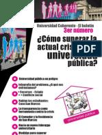 3er Boletin- Universidad Coherente