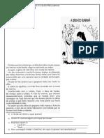 2ª Avaliação de Português - 1º Trimestre