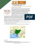 Gas Monetization in Nigeria