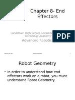 Chapter 8- End Effectors
