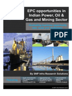 EPC Opportunities in Indian Power Oil Gas and Mining Sector