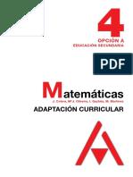Matematicas 4º ESO (Opcion A) - Adaptacion Curricular - ANAYA.pdf