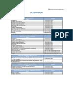 Calendarização 2016-2017– Etapas