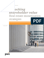 Pwc Real Estate Monetization Strategies