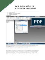 Acelerador de Diseño de Ejes en Autodesk Inventor