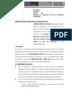 MODELO DEMANDA DE Ejecucion de Acta ConciliacIion