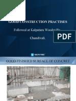 Woodsville Good Construction Practice