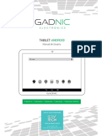 Manual Tablet Gadnic Print