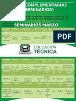 Guías Complementarias (Seminarios) Marzo 2017