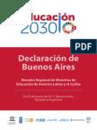 Declaración de Buenos Aires-2017