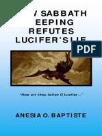 How Sabbath Keeping Refutes Lucifer Lie
