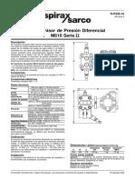 Transmisor de Presión Diferencial M610 Serie II-Hoja Técnica
