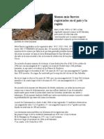 Sismos Más Fuertes Registrados en El País y La Región