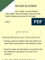 3C Bank Reconciliation