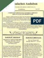 Mar 2007 Apalachee Audubon Society Newsletter