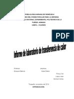 Informe de Laboratorio de Transferencia