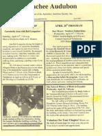 Apr 2007 Apalachee Audubon Society Newsletter