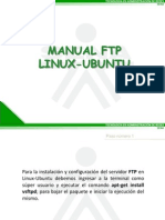 Manual Ftp Linux Ubuntu