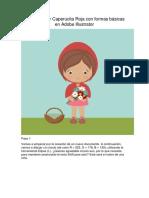 Caperucita Roja en Adobe Illustrator